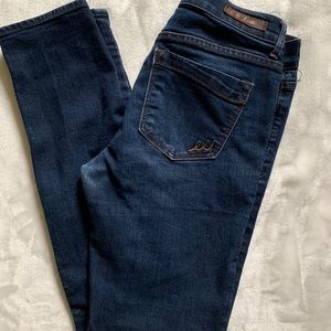 Express Skinny Mid Rise Wm Jeans